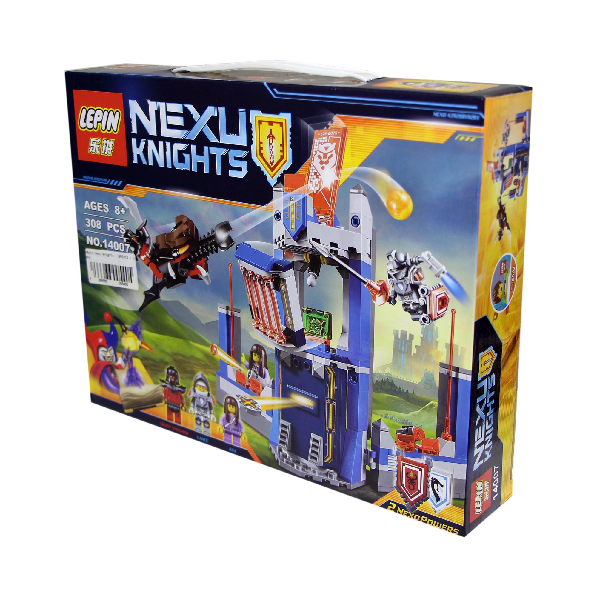 ساختنی لپین مدل Nexu Knights 14007