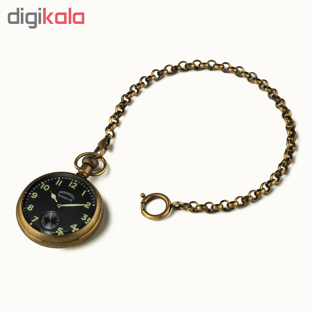 ساعت جیبی عقربه ای مردانه اینگرسل مدل I04901