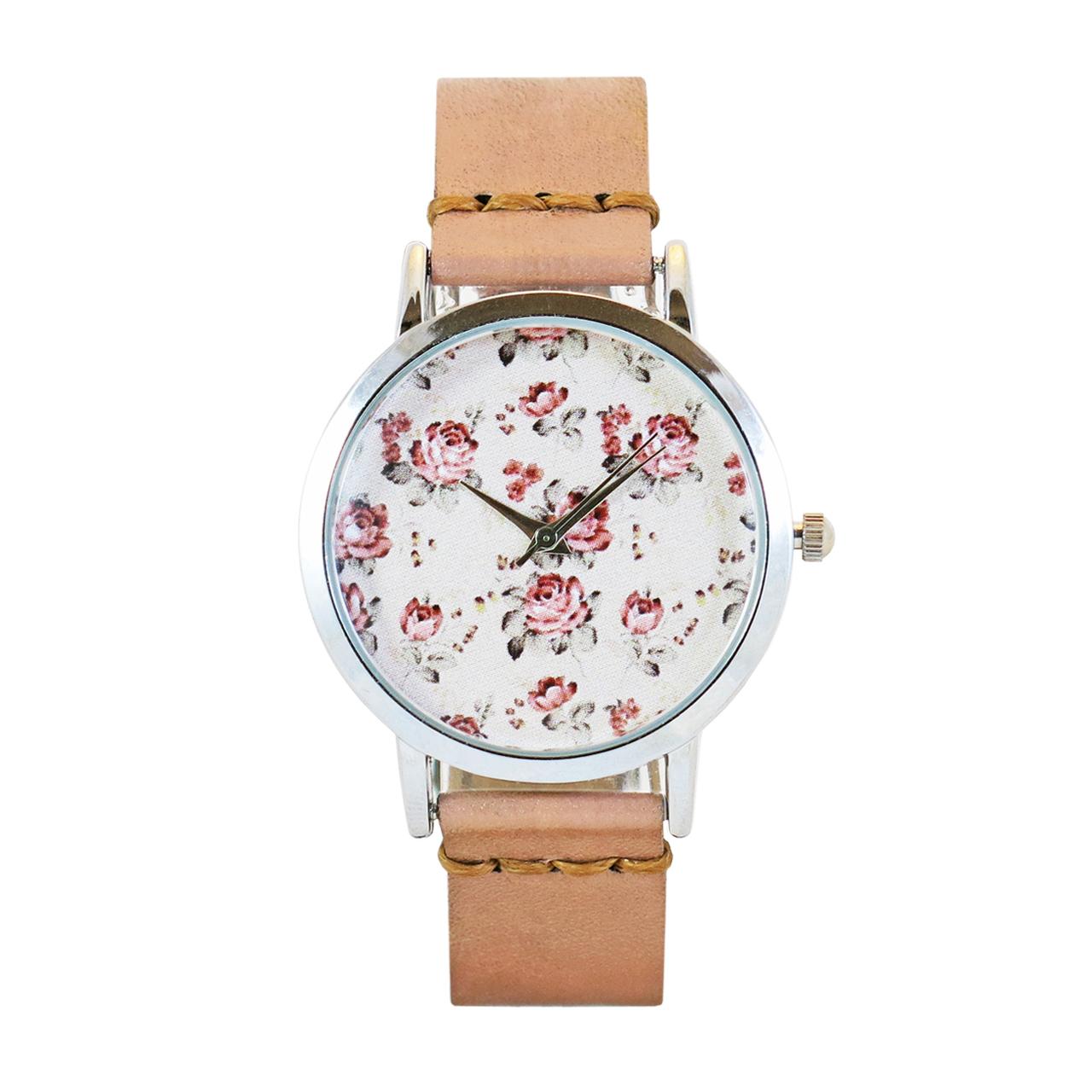 خرید ساعت مچی عقربه ای زنانه اچ آر دیزاین گروپ مدل 019