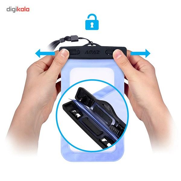 کیف ضد آب آراز سایز بزرگ مناسب برای گوشی موبایل