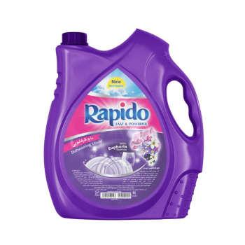 مایع ظرفشویی راپیدو مدل Purple مقدار 3750 گرم