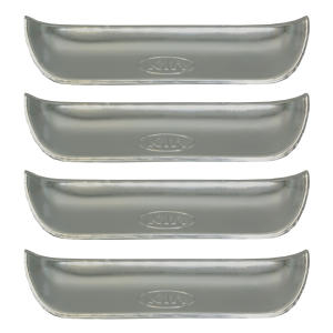 قاب زیر دستگیره خودرو بیلگین طرح استیل مدل ST02 مناسب برای پراید بسته 4 عددی