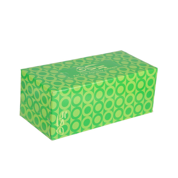 دستمال کاغذی 100 برگ پاکان مدل Afra Green