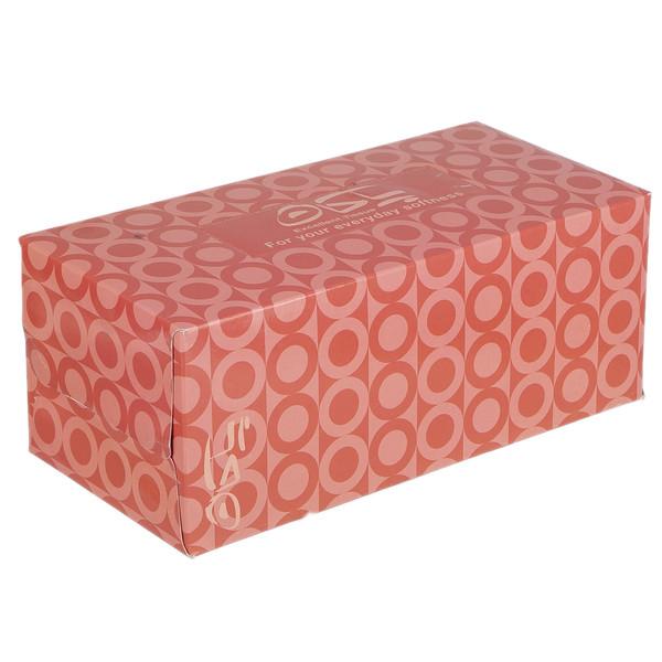 دستمال کاغذی 100 برگ پاکان مدل Afra Orange