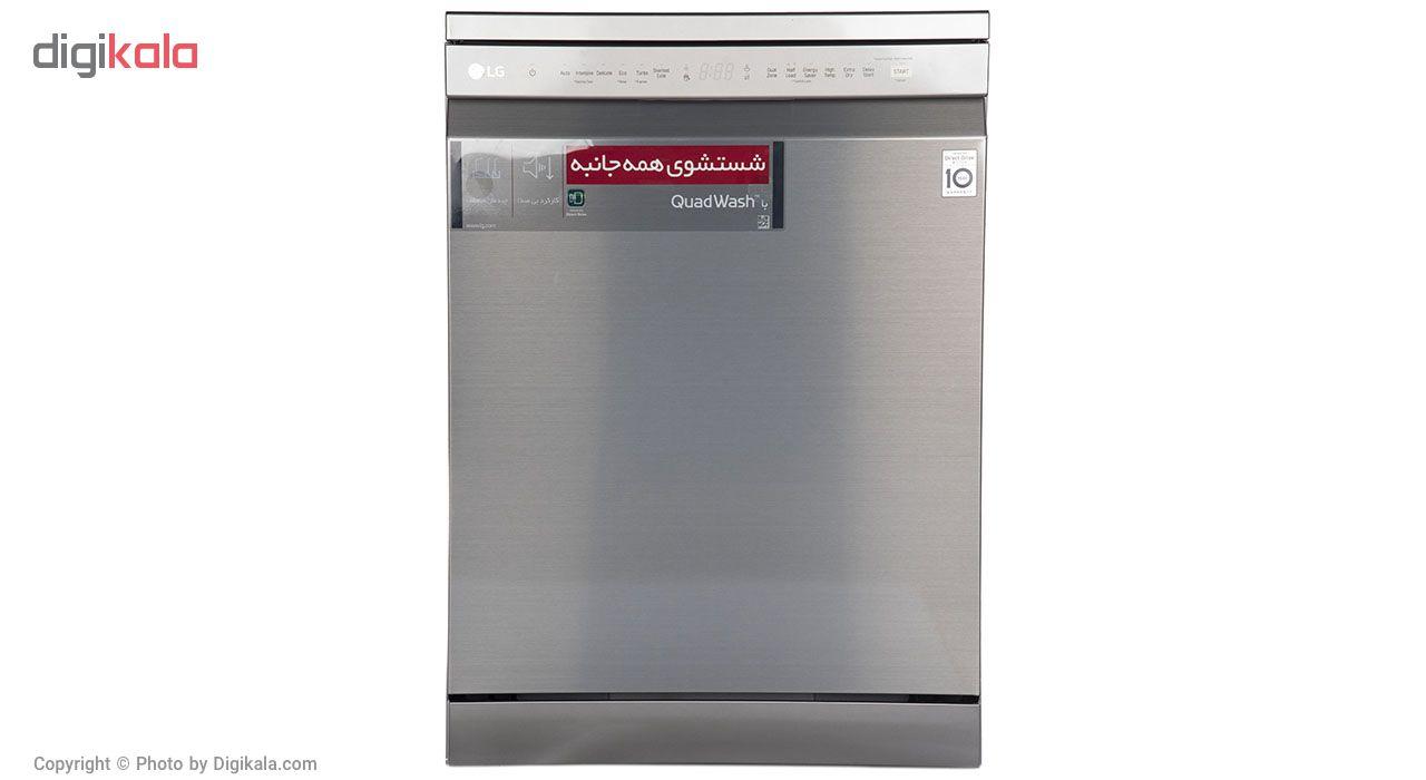 ماشین ظرفشویی ال جی مدل XD64-GSC