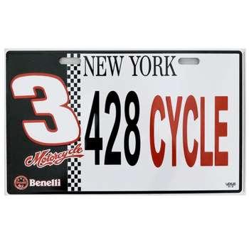پلاک موتور سیکلت کد 428