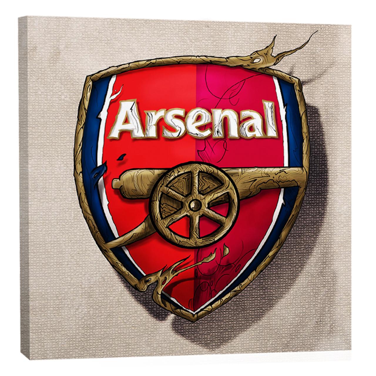 تابلو بوم  فلوریزا  ورزشی طرح فوتبال توپچی های لندن و آرسنال کد arsenal 002