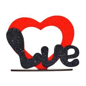 قاب عکس طرح LOVE مدل قلب