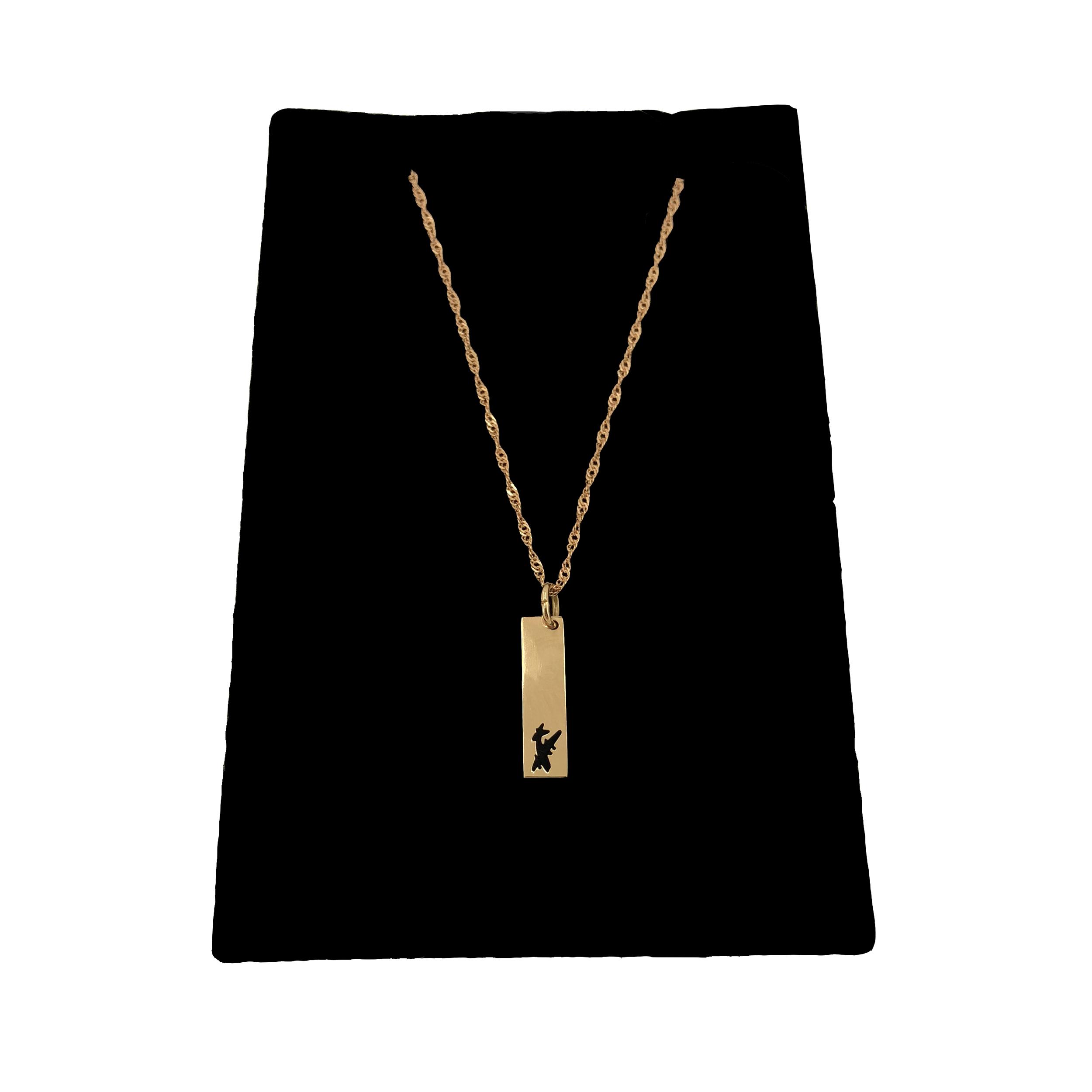 قیمت گردنبند طلا 18 عیار گیرا گالری مدل G101