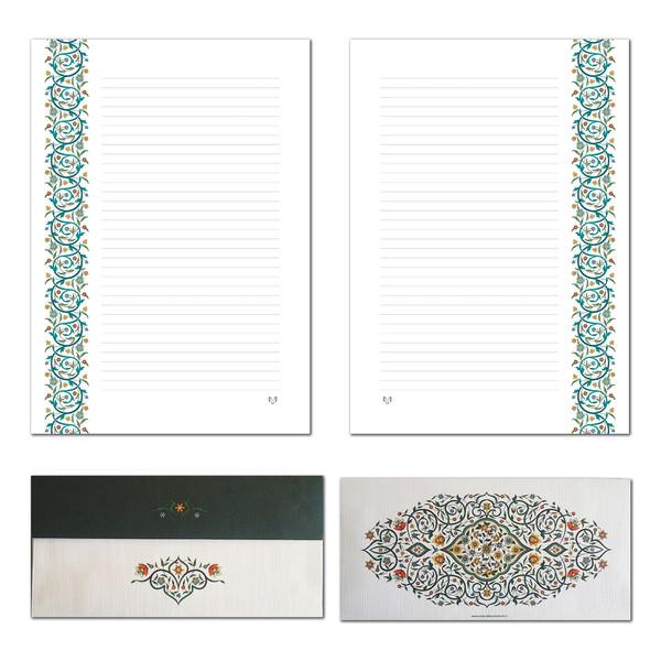 کاغذ یادداشت و پاکت نامه ستوده کد pe005 سایز A4