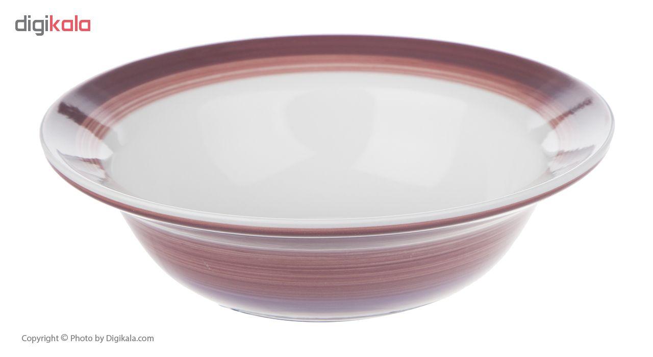 سرویس ظروف غذا خوری سرامیکی تایلندی 16 پارچه - مدل Spring