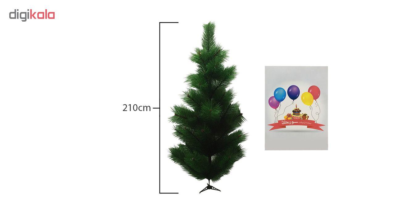 درخت سورتک طرح کریسمس کد 210
