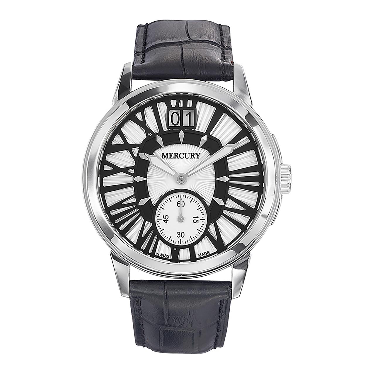 ساعت مچی عقربه ای مردانه مرکوری مدل ME325-SL-1