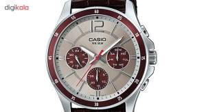 ساعت مچی عقربه ای مردانه کاسیو مدل MTP-1374L-7A1VDF  Casio MTP-1374L-7A1VDF Watch For Men