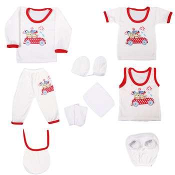 ست 10 تکه لباس نوزادی کد 457 |