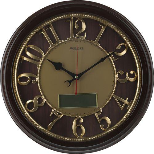 ساعت دیواری ولدر مدل 518 تقویم دار