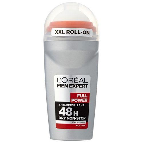 رول ضد تعریق مردانه لورآل سری Men Expert مدل Full Power 48H حجم 50 میلی لیتر