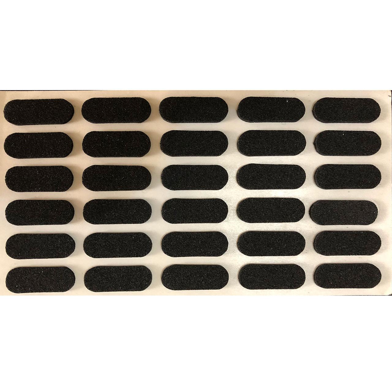 ضربه گیر کشو، درب، کابینت و کمد 2*1 مدل  B30 بسته 30 عددی پشت چسب دار