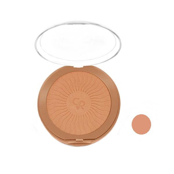 قیمت پنکیک برنز کننده گلدن رز مدل   bronzing terra powder شماره 101