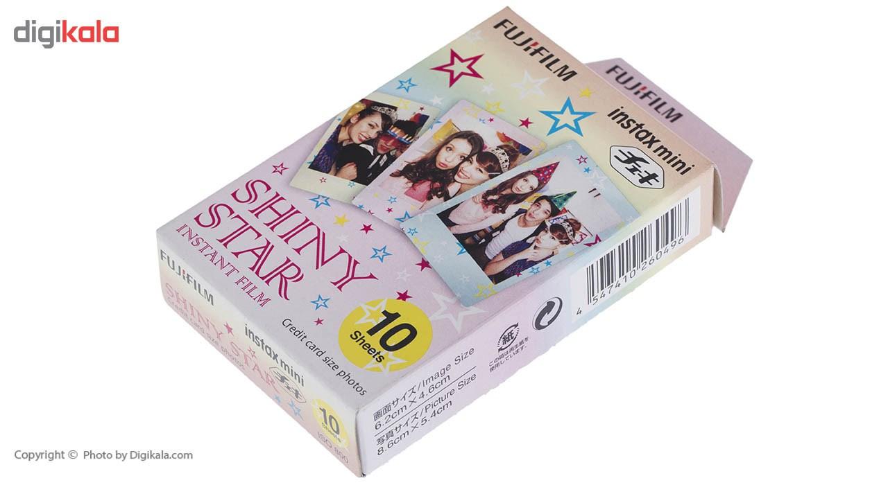 قیمت                      فیلم مخصوص دوربین فوجی اینستکس مینی 10 برگی مدل Shiny Star