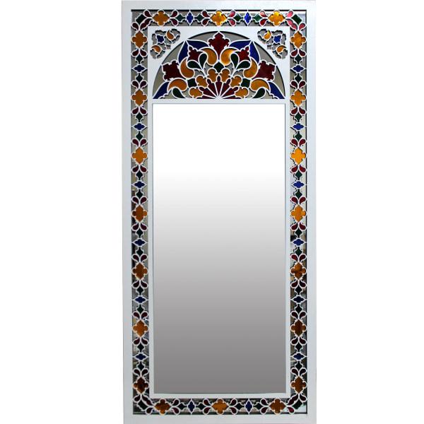 آینه دست نگار طرح پنجره سنتی کد 07-30