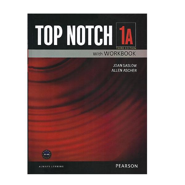 خرید                      کتاب زبان تاپ ناچ 1A اثر Joan Saslow به همراه لوح فشرده