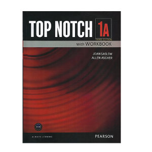 کتاب زبان تاپ ناچ 1A اثر Joan Saslow به همراه لوح فشرده