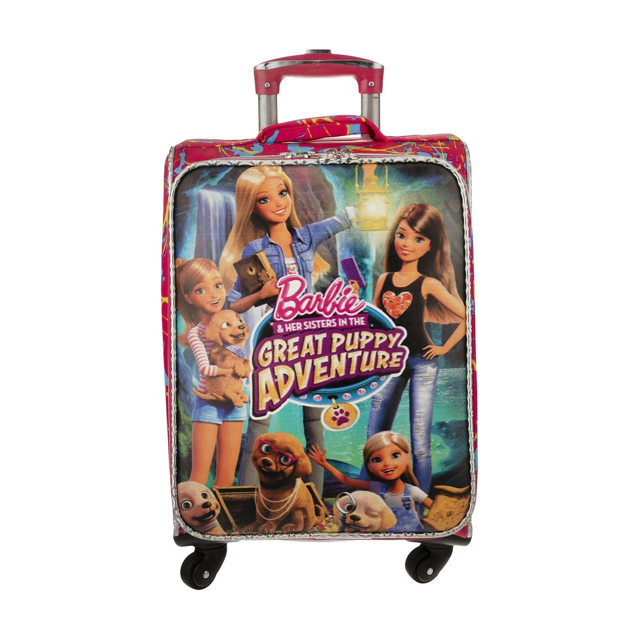 چمدان کودک مدل باربی۱۰۲