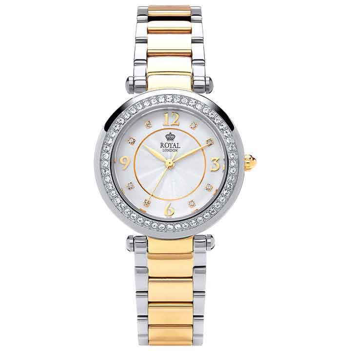 ساعت مچی عقربه ای زنانه رویال لندن مدل RL-21368-02