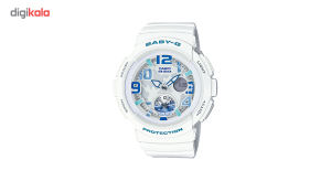 ساعت مچی عقربه ای زنانه کاسیو مدل BGA-190-7BDR  Casio BGA-190-7BDR Watch For Women