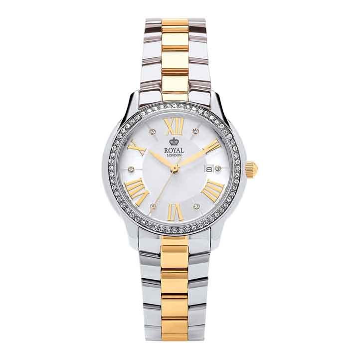 ساعت مچی عقربه ای زنانه رویال لندن مدل RL-21379-05 38