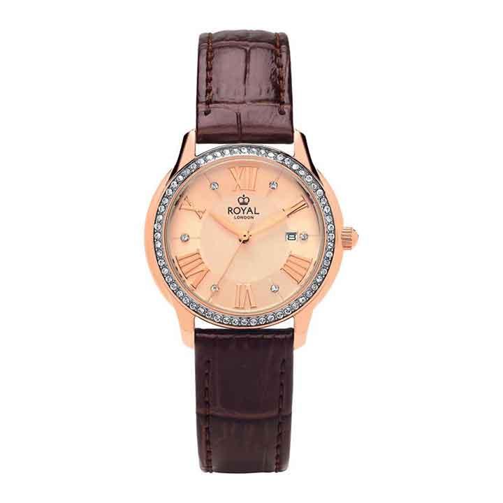 ساعت مچی عقربه ای زنانه رویال لندن مدل RL-21379-11
