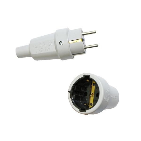 دوشاخه برق پارت الکتریک مدل 972 به همراه مادگی