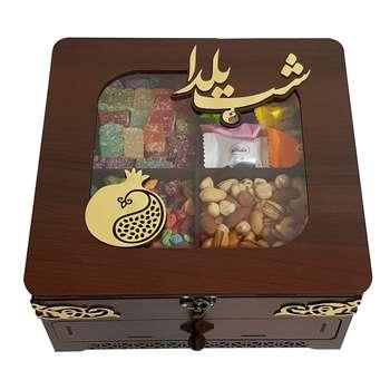 جعبه چای و پذیرایی مدل یلدا