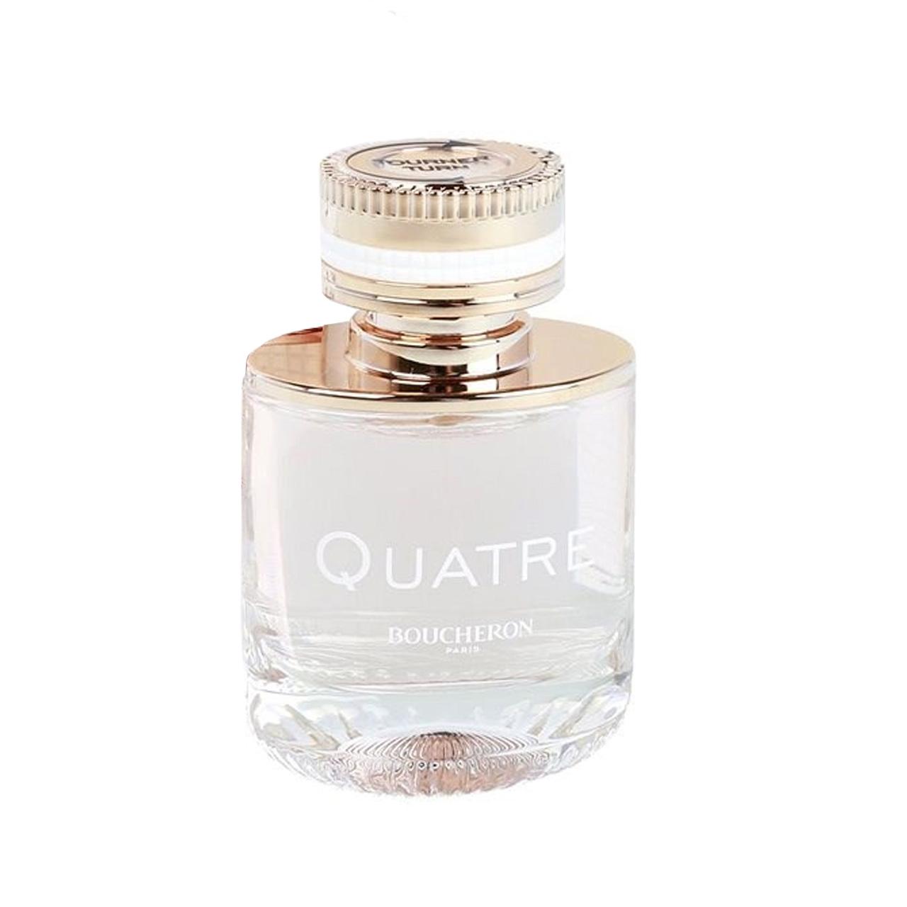 ادو تویلت زنانه بوچرون مدل Quatre parfum feminin حجم 100 میلی لیتر