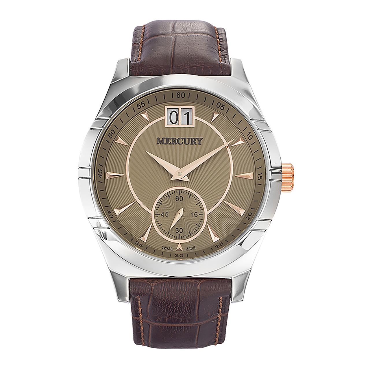 ساعت مچی عقربه ای مردانه مرکوری مدل ME315-SL-4
