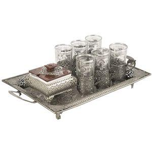 سرویس چای خوری مویلار 17 پارچه