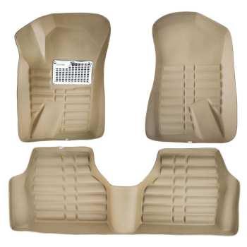 کفپوش سه بعدی خودرو پانیذ مدل 055 مناسب برای پژو ۴۰۵
