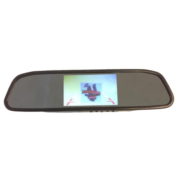 آینه مانیتوردار و دوربین دنده عقب زنوتیک مدل 433