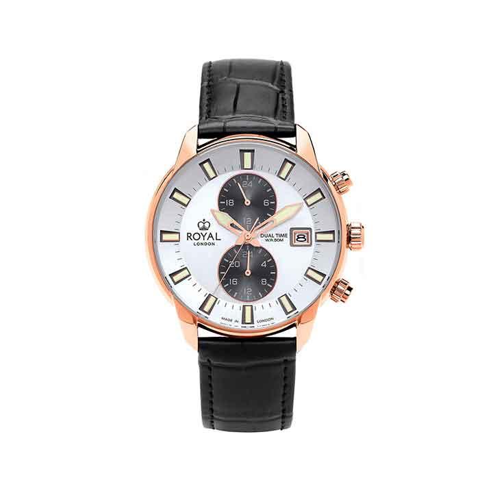 ساعت مچی عقربه ای مردانه رویال لندن مدل RL-41395-04 1