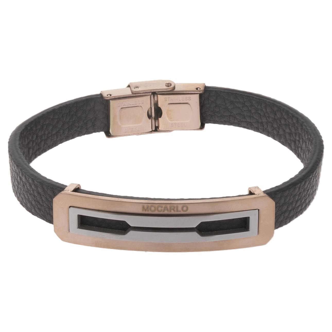 دستبند مردانه موکارلو کد 4003