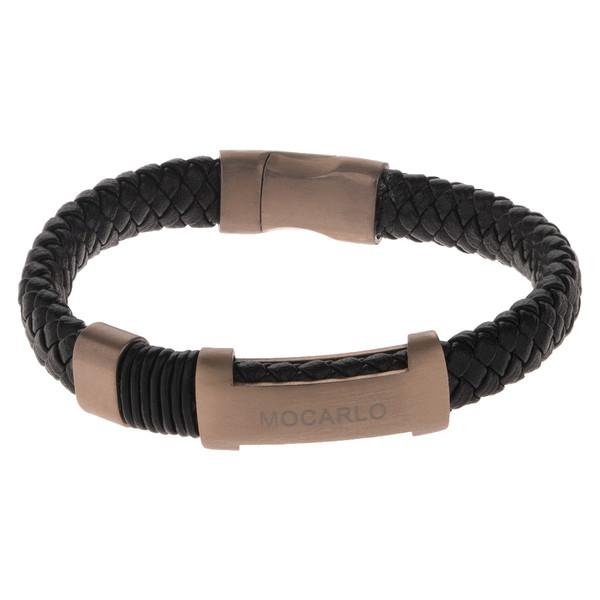 دستبند مردانه موکارلو کد 4002