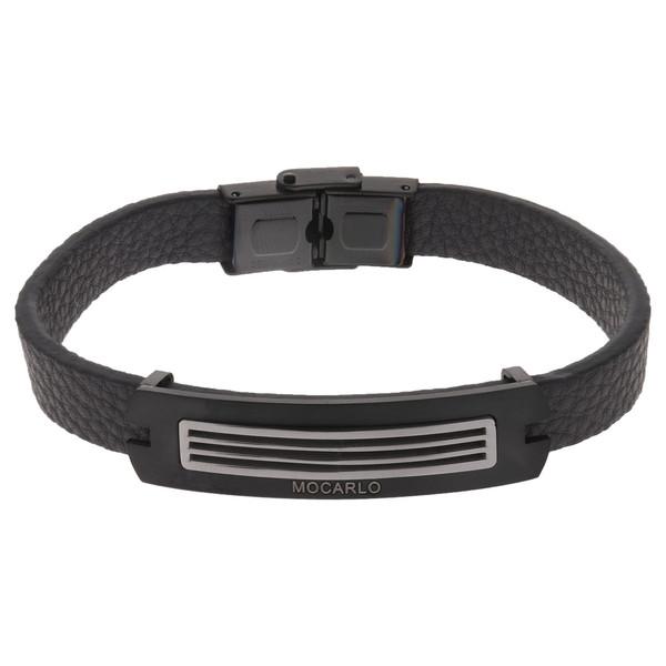 دستبند مردانه موکارلو کد 4001