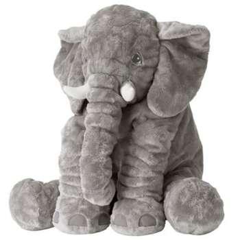 عروسک فیل بالشتی مدل Baby Elephant ارتفاع 50 سانتی متر |