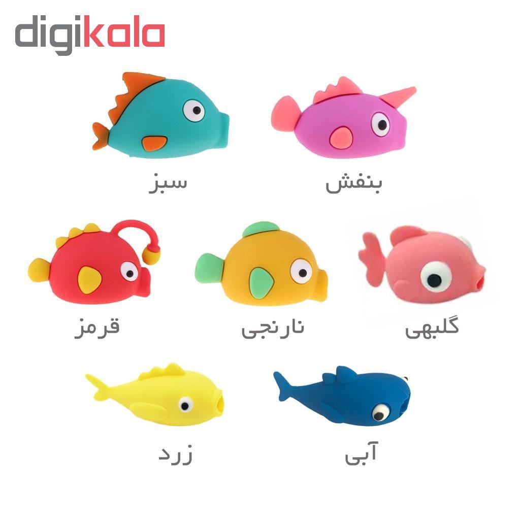 محافظ کابل عروسکی مدل DuDuFish main 1 4