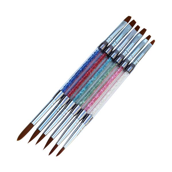 قلم طراحی ناخن مدل 74404 مجموعه 6 عددی