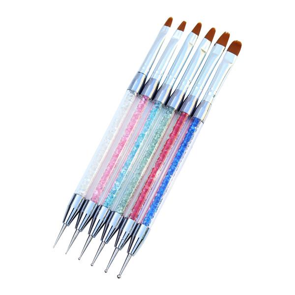قلم طراحی ناخن مدل 74405 مجموعه 6 عددی