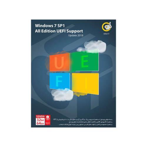 سیستم عامل ویندوز گردو Microsoft Windows 7 SP1 All Edition UEFI Support Update 2018