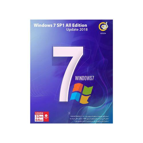 سیستم عامل ویندوز گردو Windows 7 SP1 All Edition Update 2018 DVD9