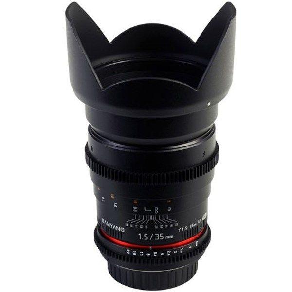 لنز سامیانگ  35mm T1.5 AS UMC VDSLR Canon